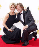 Felicity Huffman and William H. Macy Stock Photo