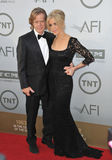 Felicity Huffman & William H. Macy Royalty Free Stock Photos