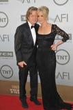 Felicity Huffman y Guillermo H macy Imagen de archivo