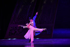 "Felicity of husband and wife-Dance drama ""The Dream of Maritime Silk Road"" Stock Photography"