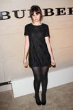Felicity Jones. At the Burberry Body Launch, Burberry, Beverly Hills, CA 10-26-11 Stock Photos