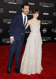 Felicity Jones and Diego Luna Royalty Free Stock Photo
