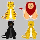 Felidae Family Stock Image
