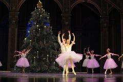 Felik dans för godis det andra för handling för fältgodis i andra hand kungariket - balettnötknäpparen Royaltyfri Foto