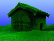 felik home illustration 3d Arkivfoto