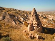 Felik lampglas i Cappadocia Arkivbilder