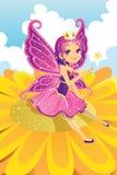felik princess stock illustrationer