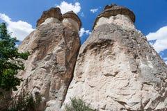 felika cappadocialampglas Arkivfoton