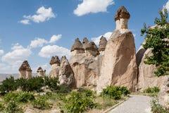 felika cappadocialampglas Royaltyfri Bild