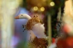Felika gåvor på julhelgdagsaftonen i Österrike Royaltyfria Foton