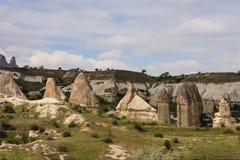 Felika lampglas av Cappadocia Arkivfoto
