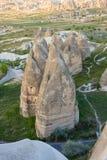 Felika lampglas av Cappadocia Arkivbild