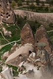 Felika lampglas av Cappadocia Arkivbilder