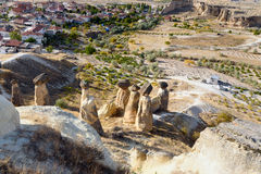 felika lampglas Cavusin cappadocia kalkon Royaltyfria Bilder