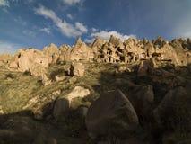 Felika lampglas i den Zelve dalen på Cappadocia, Turkiet Royaltyfri Foto