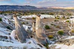 Felika lampglas nära Urgup i Cappadocia kalkon Royaltyfria Bilder