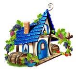 felikt hus little vektor illustrationer