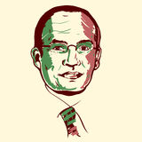 Felipe Calderon portrait royalty free stock images