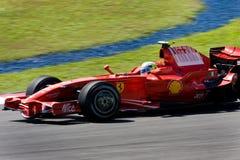 Felipe Ferrari f 1, panie malboro scuderia zespołu Zdjęcia Stock