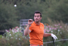 Felipe Lima, taza del golf de Vivendi, sept. de 2010 Fotografía de archivo