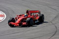 Felipe Massa, équipe de Scuderia Ferrari Malboro F1 Image libre de droits