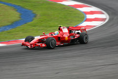 Felipe Massa, équipe de Scuderia Ferrari Malboro F1 Images libres de droits