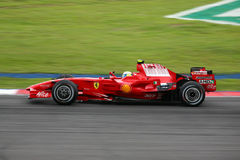 Felipe Massa, équipe de Scuderia Ferrari Malboro F1 Photos libres de droits