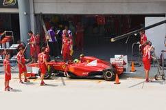 Felipe Massa (équipe Scuderia Ferrari) Photo libre de droits