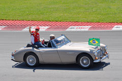 Felipe Massa in 2012 F1 Canadian Grand Prix Stock Photos