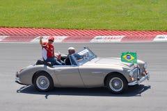 Felipe Massa in 2012 F1 kanadisches großartiges Prix stockfotos