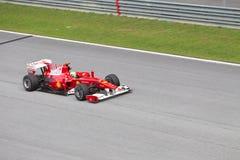 Felipe Massa bij Maleise F1 Royalty-vrije Stock Fotografie