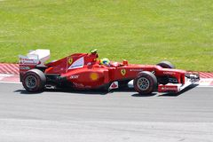 Felipe Massa in de Canadese Grand Prix van 2012 F1 Stock Foto