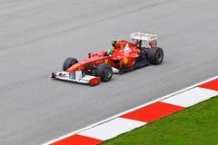 Felipe Massa (equipe Ferrari) Fotografia de Stock