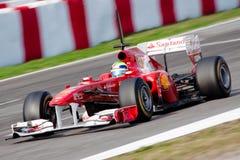Felipe Massa F1 2011 - Scuderia Ferrari - Fotografia Royalty Free
