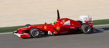 Felipe Massa Ferrari Стоковое Фото