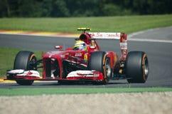 Felipe Massa Ferrari Fotografia Stock Libera da Diritti