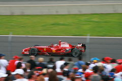 Felipe Massa gagne de nouveau Photo stock