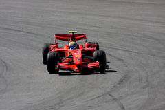 Felipe Massa, het team van Scuderia Ferrari Malboro F1 Royalty-vrije Stock Foto