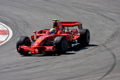 Felipe Massa, het team van Scuderia Ferrari Malboro F1 Royalty-vrije Stock Afbeelding