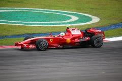 Felipe Massa, het team van Scuderia Ferrari Malboro F1 Stock Foto's