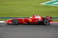 Felipe Massa, het team van Scuderia Ferrari Malboro F1 Royalty-vrije Stock Foto's