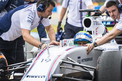 Felipe Massa royalty free stock photos