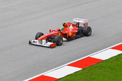 Felipe Massa (personas Ferrari) Fotografía de archivo