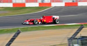 Felipe Massa Prix magnífico británico 2010 Imágenes de archivo libres de regalías