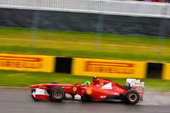 Felipe Massa racing at Montreal Grand prix Royalty Free Stock Photo