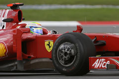 FELIPE MASSA, SCUDERIA FERRARI MALBORO F1 2009 Royalty Free Stock Photo