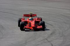 Felipe Massa, squadra di Scuderia Ferrari Malboro F1 fotografia stock libera da diritti