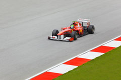 Felipe Massa (team Scuderia Ferrari) Royalty Free Stock Photos