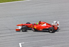 Felipe Massa (team Scuderia Ferrari) Royalty Free Stock Image