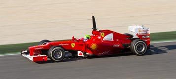 Felipe Massa van Ferrari Stock Foto